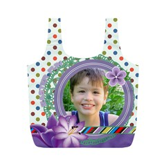 Easter By Joely   Full Print Recycle Bag (m)   Efy8t9lf3iuc   Www Artscow Com Back