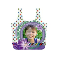 Easter By Joely   Full Print Recycle Bag (s)   Oe0u8l758517   Www Artscow Com Back