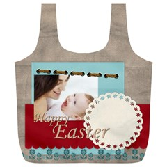 Easter By Joely   Full Print Recycle Bag (xl)   Xeznip6ug52s   Www Artscow Com Back