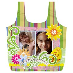Easter By Joely   Full Print Recycle Bag (xl)   Wqma0vzi3cpu   Www Artscow Com Front