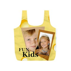 Fun Kids By Kids   Full Print Recycle Bag (s)   Vn2oxxypcv83   Www Artscow Com Back