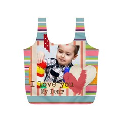 Fun Kids By Kids   Full Print Recycle Bag (s)   2mqkfxd5al7e   Www Artscow Com Front
