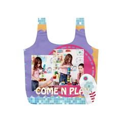 Fun Kids By Kids   Full Print Recycle Bag (s)   S7a2j9c6tq6d   Www Artscow Com Back