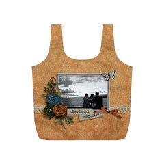 Recycle Bag (s)   Cherished Memories By Jennyl   Full Print Recycle Bag (s)   S4oa47qua2vz   Www Artscow Com Back
