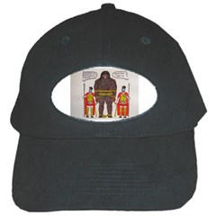 Big Foot & Romans Black Baseball Cap