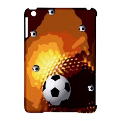 Soccer Apple Ipad Mini Hardshell Case (compatible With Smart Cover) by Rbrendes
