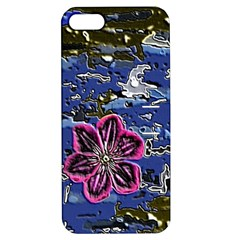 Flooded Flower Apple Iphone 5 Hardshell Case With Stand by Rbrendes