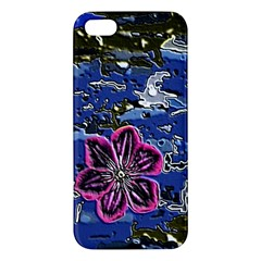 Flooded Flower Iphone 5s Premium Hardshell Case by Rbrendes
