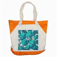 Teal Sea Forest, Abstract Underwater Ocean Accent Tote Bag by DianeClancy