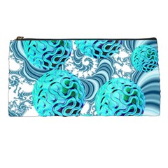 Teal Sea Forest, Abstract Underwater Ocean Pencil Case by DianeClancy