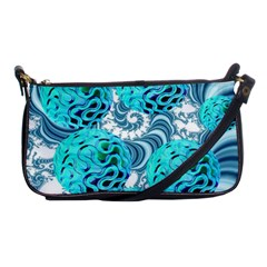 Teal Sea Forest, Abstract Underwater Ocean Evening Bag by DianeClancy
