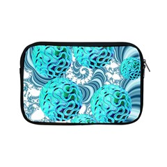 Teal Sea Forest, Abstract Underwater Ocean Apple Ipad Mini Zippered Sleeve by DianeClancy