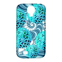Teal Sea Forest, Abstract Underwater Ocean Samsung Galaxy S4 Classic Hardshell Case (pc+silicone) by DianeClancy