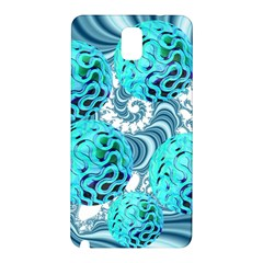 Teal Sea Forest, Abstract Underwater Ocean Samsung Galaxy Note 3 N9005 Hardshell Back Case by DianeClancy