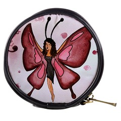 Butterfly Girl Mini Makeup Case by CaterinaBassano