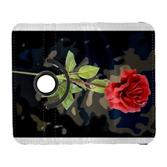Long Stem Rose Samsung Galaxy S  Iii Flip 360 Case by Rbrendes
