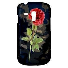 Long Stem Rose Samsung Galaxy S3 Mini I8190 Hardshell Case by Rbrendes