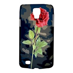 Long Stem Rose Samsung Galaxy S4 Active (i9295) Hardshell Case by Rbrendes
