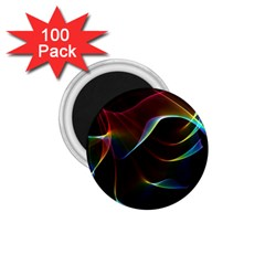 Imagine, Through The Abstract Rainbow Veil 1 75  Button Magnet (100 Pack) by DianeClancy