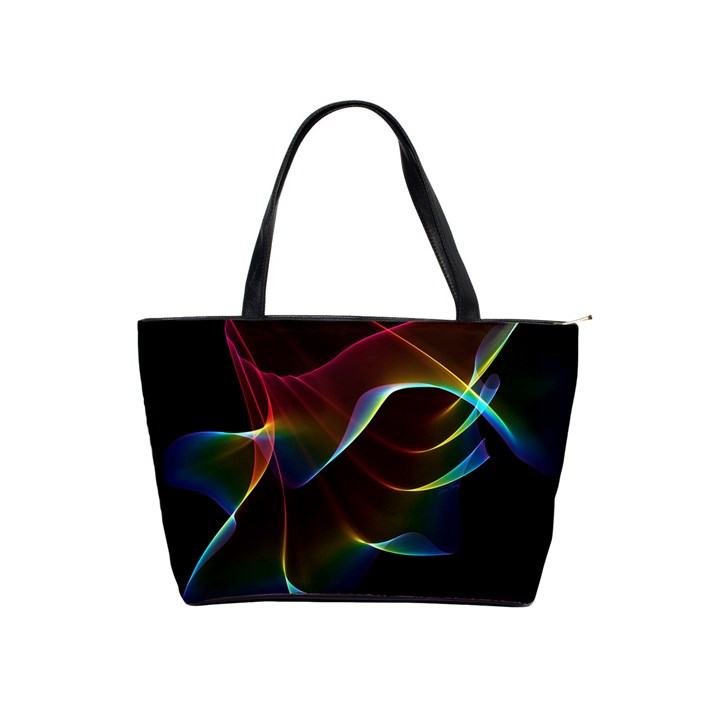 Imagine, Through The Abstract Rainbow Veil Large Shoulder Bag