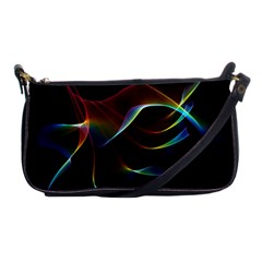 Imagine, Through The Abstract Rainbow Veil Evening Bag by DianeClancy