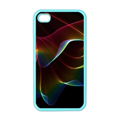 Imagine, Through The Abstract Rainbow Veil Apple Iphone 4 Case (color) by DianeClancy