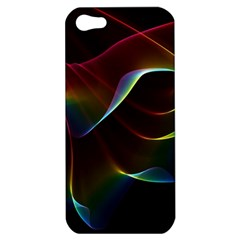 Imagine, Through The Abstract Rainbow Veil Apple Iphone 5 Hardshell Case by DianeClancy