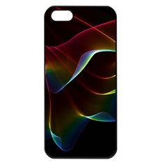 Imagine, Through The Abstract Rainbow Veil Apple Iphone 5 Seamless Case (black) by DianeClancy