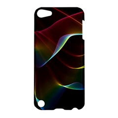 Imagine, Through The Abstract Rainbow Veil Apple Ipod Touch 5 Hardshell Case by DianeClancy