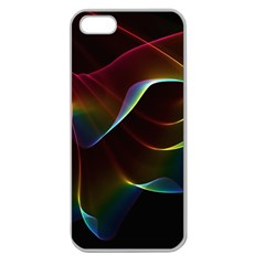 Imagine, Through The Abstract Rainbow Veil Apple Seamless Iphone 5 Case (clear) by DianeClancy