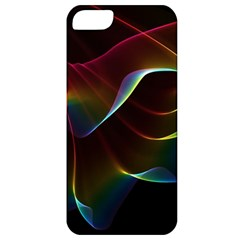 Imagine, Through The Abstract Rainbow Veil Apple Iphone 5 Classic Hardshell Case by DianeClancy