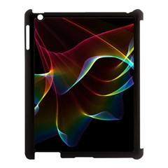 Imagine, Through The Abstract Rainbow Veil Apple Ipad 3/4 Case (black) by DianeClancy