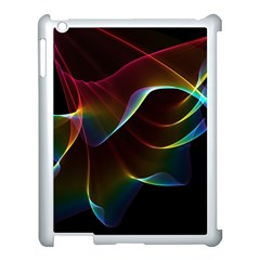 Imagine, Through The Abstract Rainbow Veil Apple Ipad 3/4 Case (white) by DianeClancy