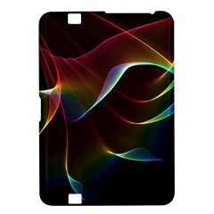 Imagine, Through The Abstract Rainbow Veil Kindle Fire Hd 8 9  Hardshell Case by DianeClancy