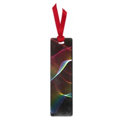 Imagine, Through The Abstract Rainbow Veil Small Bookmark by DianeClancy