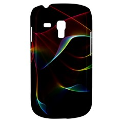 Imagine, Through The Abstract Rainbow Veil Samsung Galaxy S3 Mini I8190 Hardshell Case by DianeClancy
