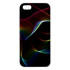 Imagine, Through The Abstract Rainbow Veil Apple Iphone 5 Premium Hardshell Case by DianeClancy