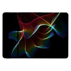 Imagine, Through The Abstract Rainbow Veil Samsung Galaxy Tab 8 9  P7300 Flip Case by DianeClancy