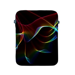 Imagine, Through The Abstract Rainbow Veil Apple Ipad Protective Sleeve by DianeClancy