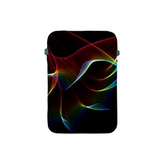 Imagine, Through The Abstract Rainbow Veil Apple Ipad Mini Protective Sleeve by DianeClancy