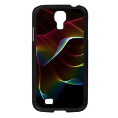 Imagine, Through The Abstract Rainbow Veil Samsung Galaxy S4 I9500/ I9505 Case (black) by DianeClancy