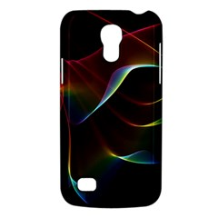 Imagine, Through The Abstract Rainbow Veil Samsung Galaxy S4 Mini (gt I9190) Hardshell Case  by DianeClancy