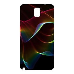 Imagine, Through The Abstract Rainbow Veil Samsung Galaxy Note 3 N9005 Hardshell Back Case by DianeClancy