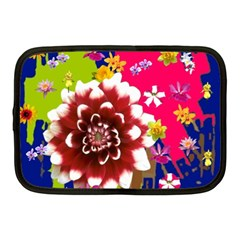Flower Bunch Netbook Sleeve (Medium) by Rbrendes