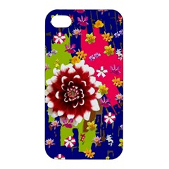 Flower Bunch Apple Iphone 4/4s Premium Hardshell Case by Rbrendes