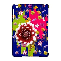Flower Bunch Apple Ipad Mini Hardshell Case (compatible With Smart Cover) by Rbrendes