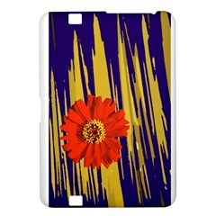 Red Flower Kindle Fire Hd 8 9  Hardshell Case by Rbrendes
