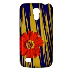 Red Flower Samsung Galaxy S4 Mini (gt I9190) Hardshell Case  by Rbrendes