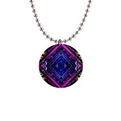 Galaxy Button Necklace