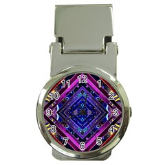 Galaxy Money Clip With Watch by Rbrendes